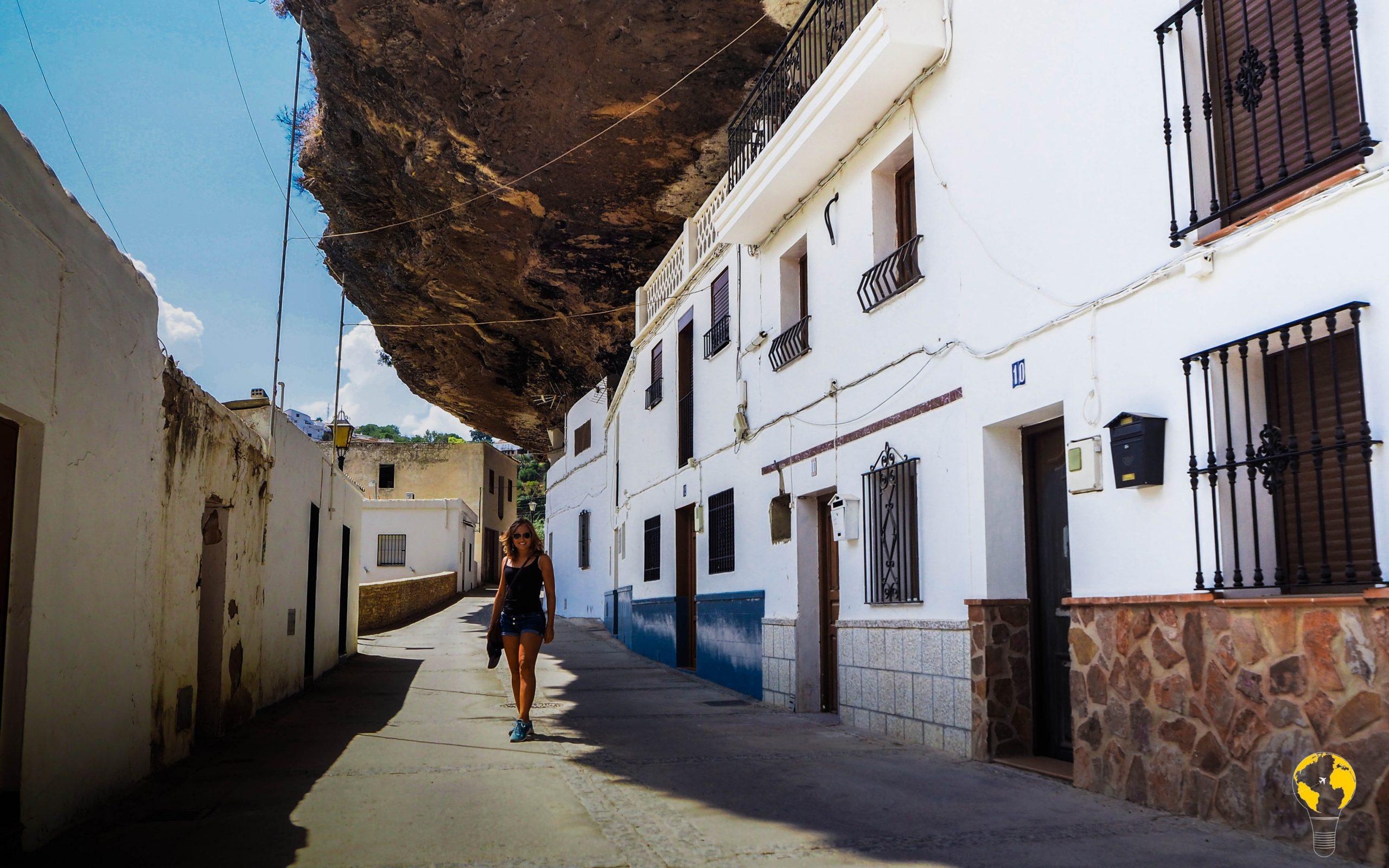 Setenil de las Bodegas, Calle Cuevas del Sol