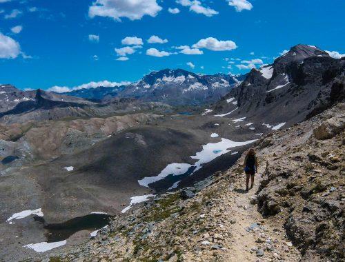 escursione al colle Rosset, Parco del Gran Paradiso