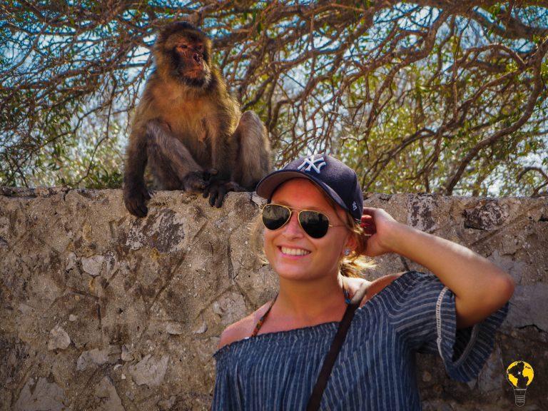 Stefania e macaco