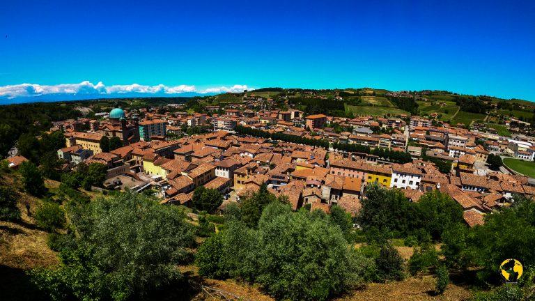 Vista panoramica di Dogliani