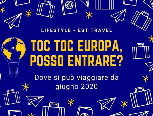 viaggiare in europa da giugno