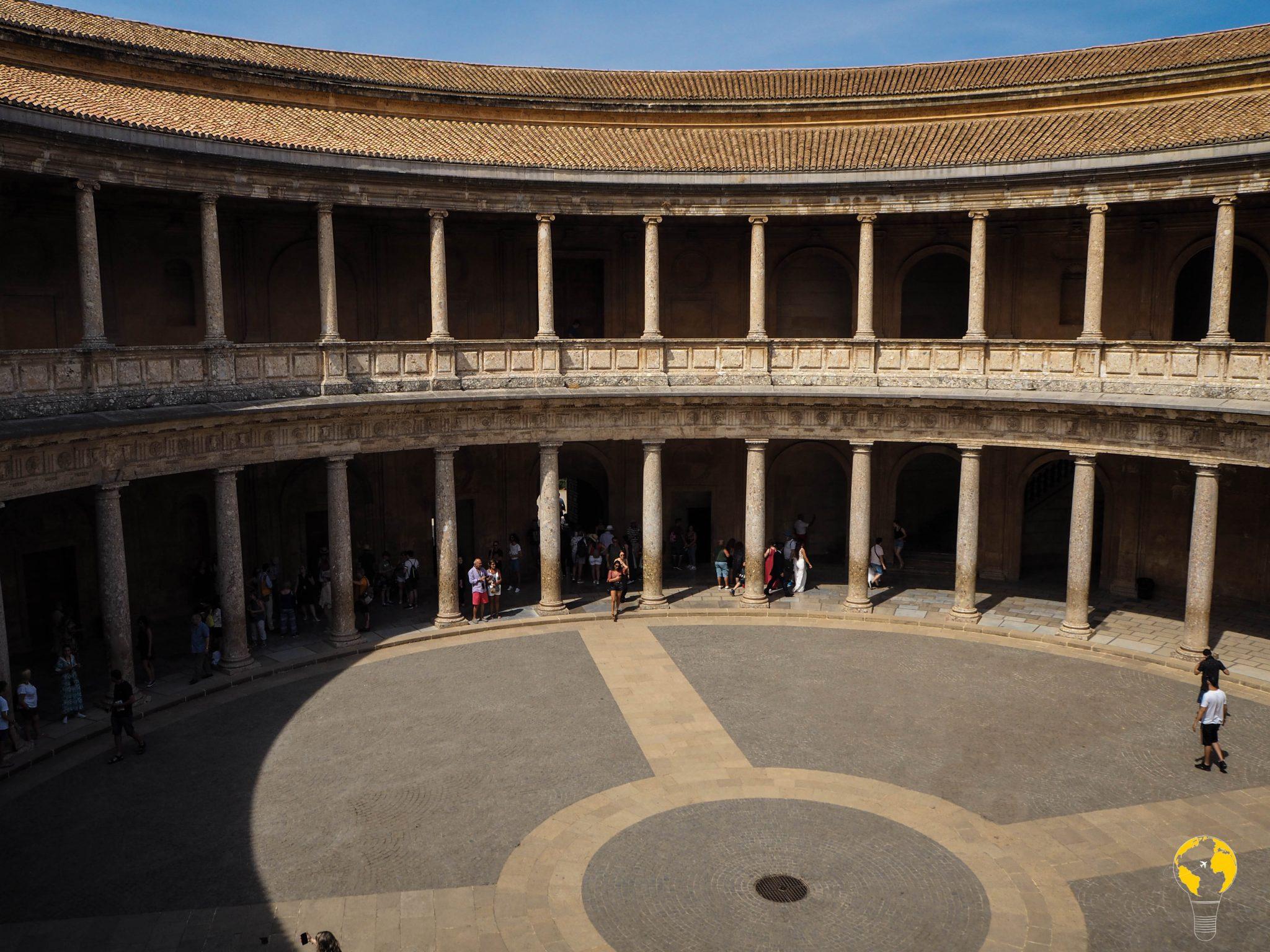 Palacio de Carlos V, Alhambra