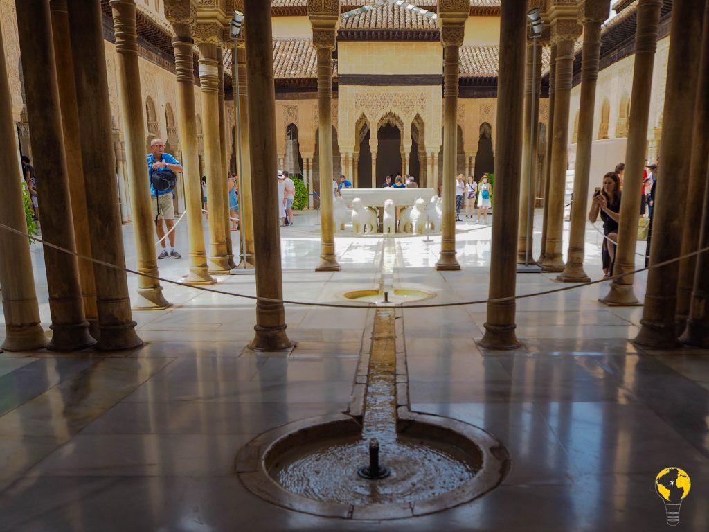 Corte dei leoni, Alhambra