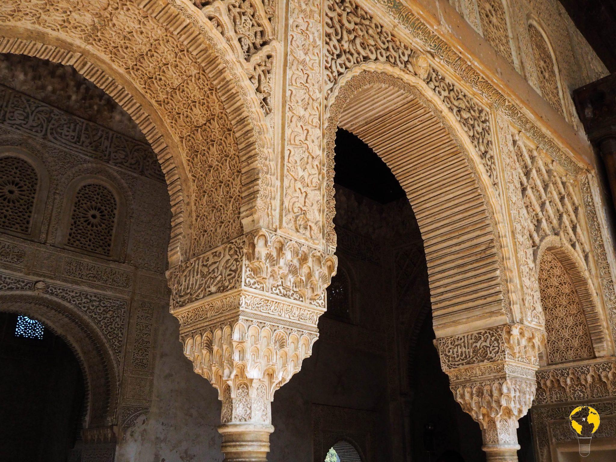 dettaglio colonne arabe