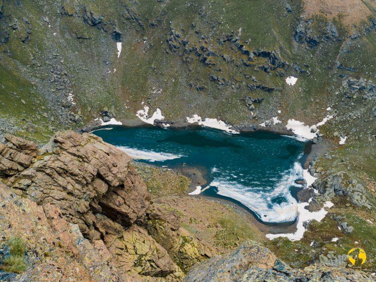 lago ciardonnet dall'alto