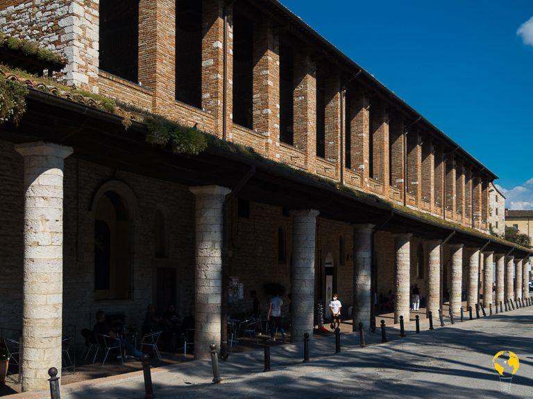 loggia dei tiratori, Gubbio