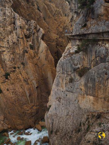punto panoramico del Caminito del Rey