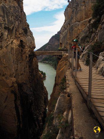 collegamento acquedotto tra le due parti del Canyon