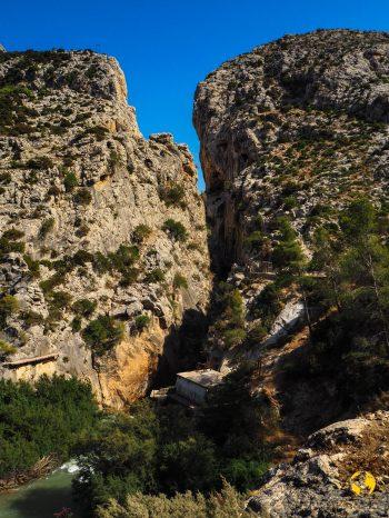 ingresso del canyon, Caminito del Rey